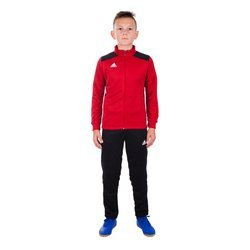 Dres Adidas junior Regista 18 zestaw RE/BL