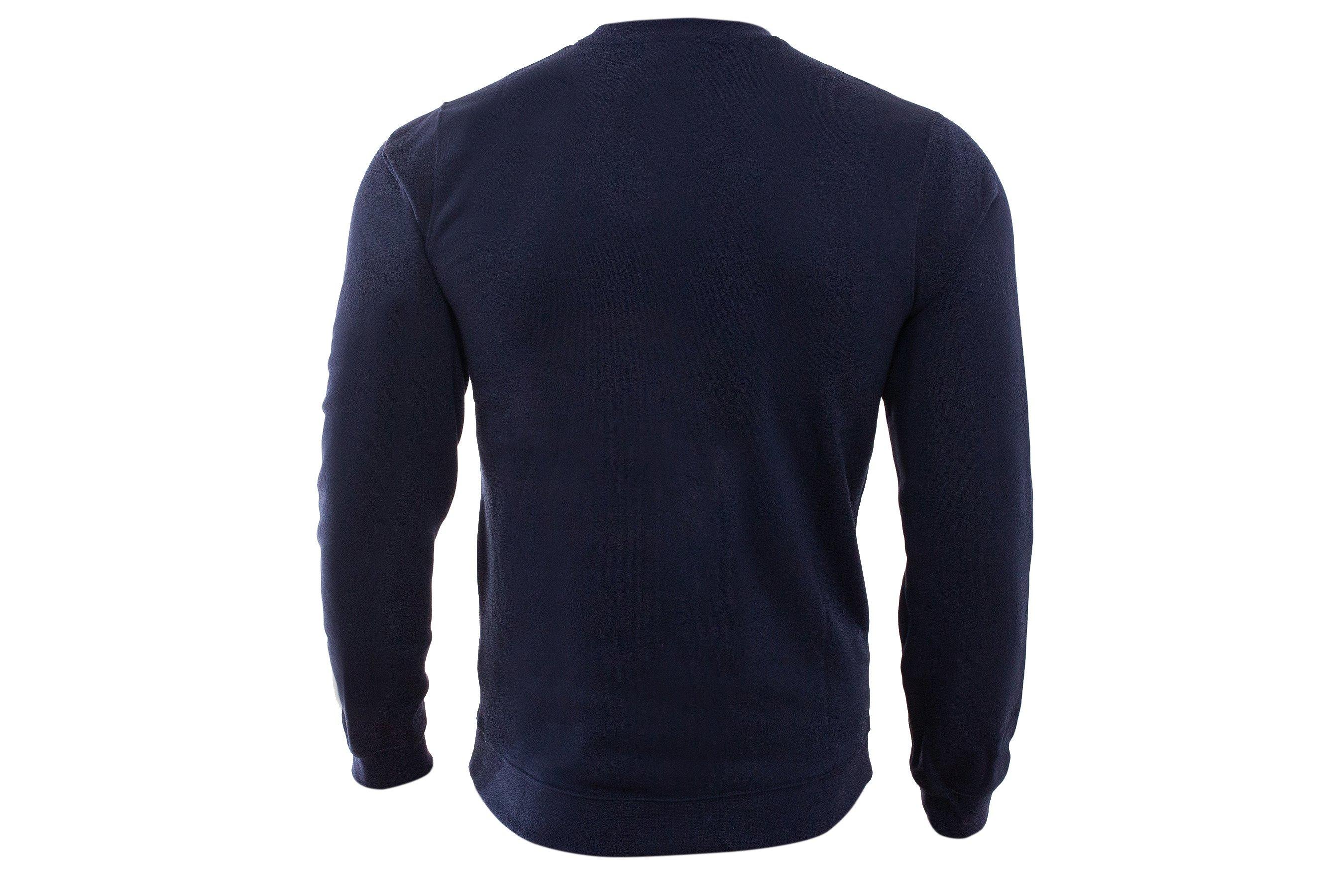 Męska bluza dresowa Nike, granatowa TEAM CLUB 19 FL CREW