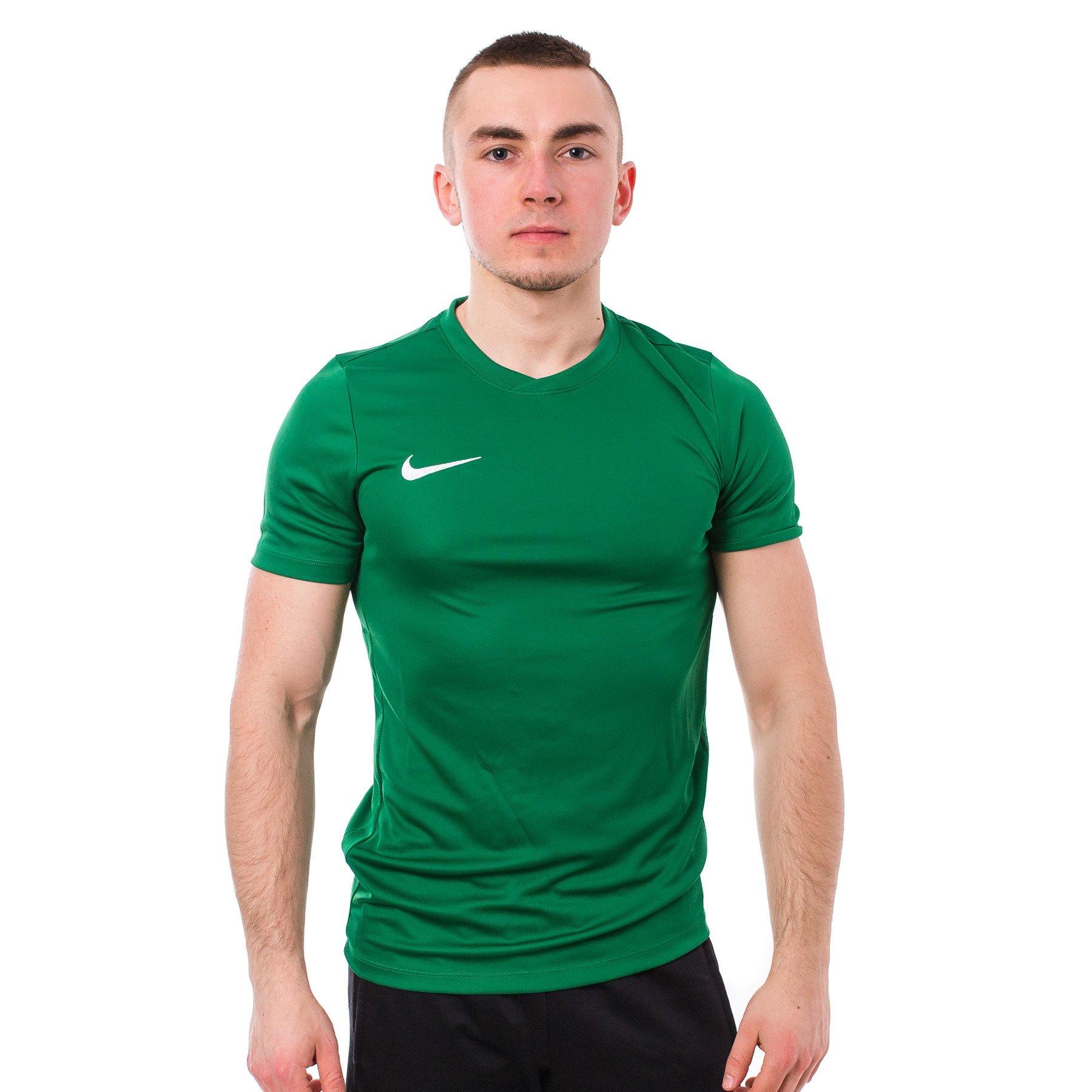 4498aaccc4b505 Męska koszulka NIKE z krótkim rękawem, zielona - PARK VII 725891-302 ...
