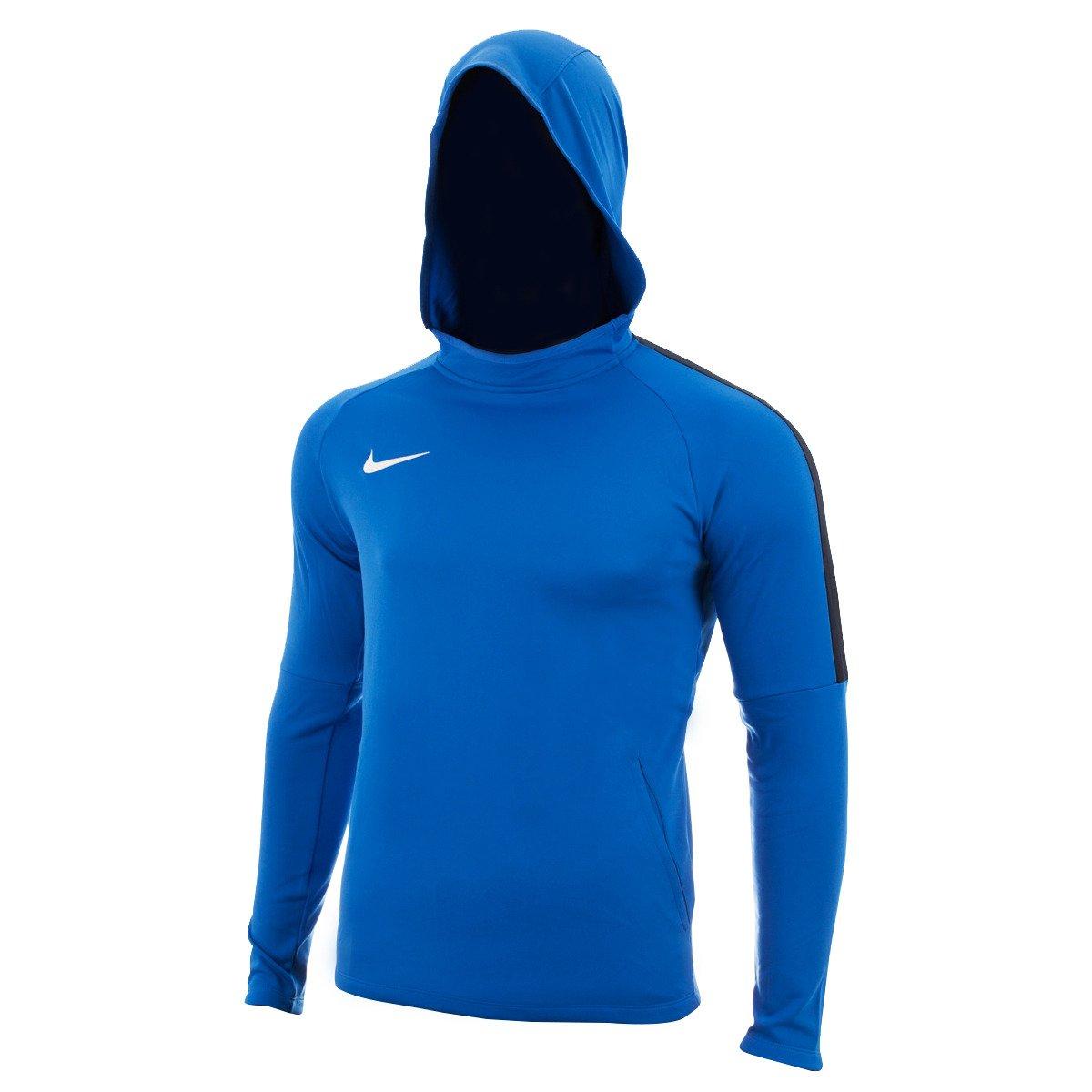 Bluza męska Nike Dry Academy 18 Hoodie PO niebieska AH9608 463