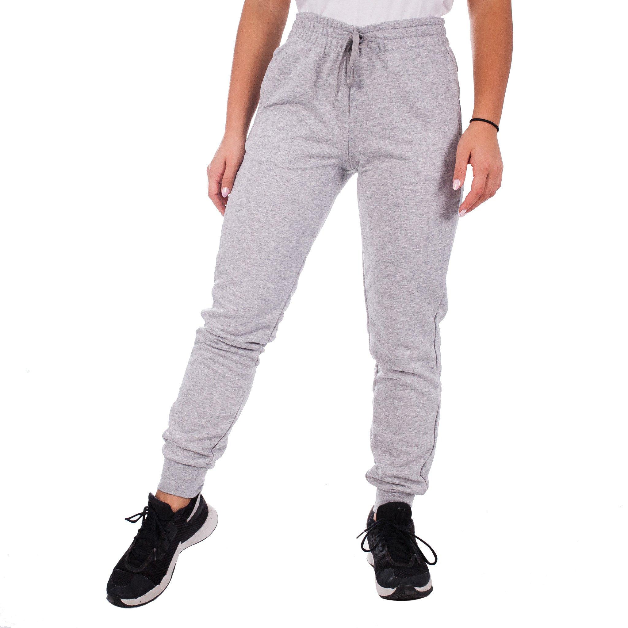 Spodnie damskie adidas W E Lin Pant szare EI0658 Rozmiar M