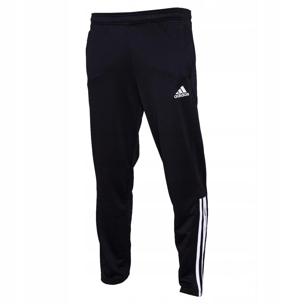 Spodnie piłkarskie męskie adidas Regista 18 czarne treningowe